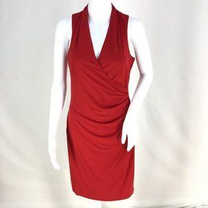 Sexy Calvin Klein Red Cutout Dress Sz 8